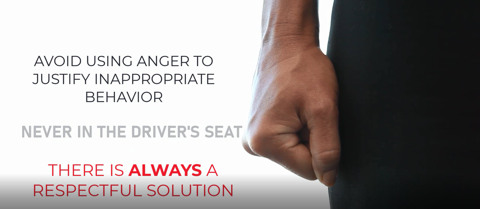 Your emotions should serve as a warning sign and do not belong in the driver's seat.