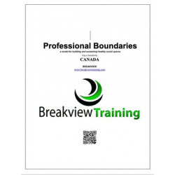 Canada Professional Boundaries Workbook