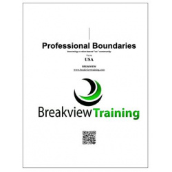USA Professional Boundaries - Course Reference Book (V20.19.18)
